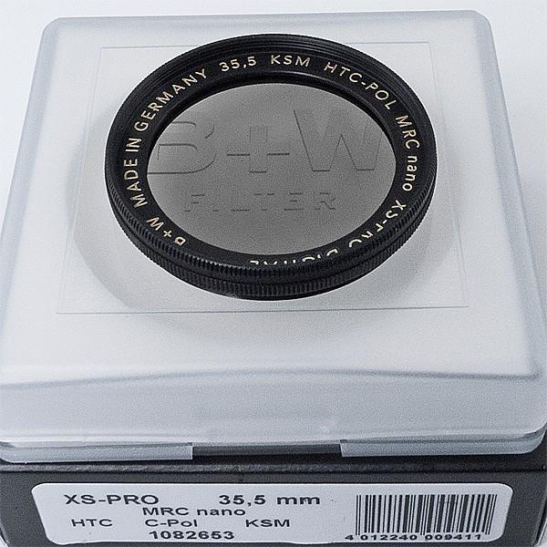 B+W Zirkularpolfilter nach Käsemann HTC MRC nano XS-Pro Digital Ø 35,5 mm