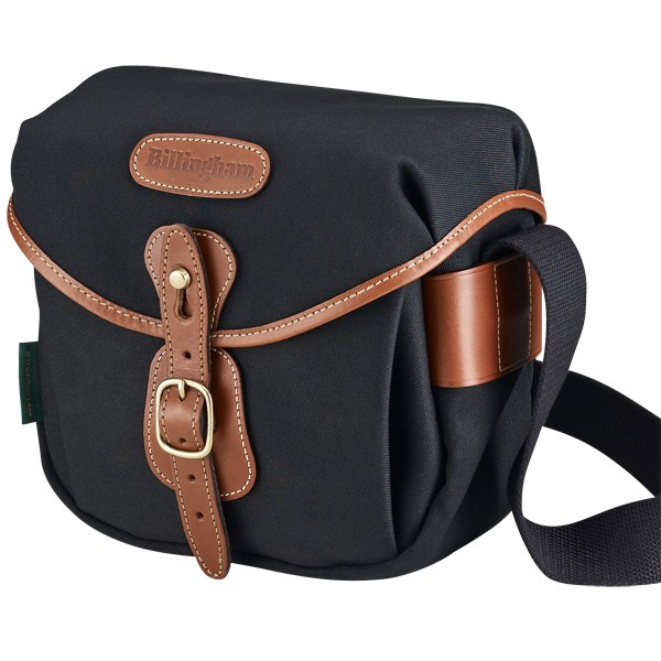 Billingham Hadley Digital Black / Tan (Canvas / Leder)