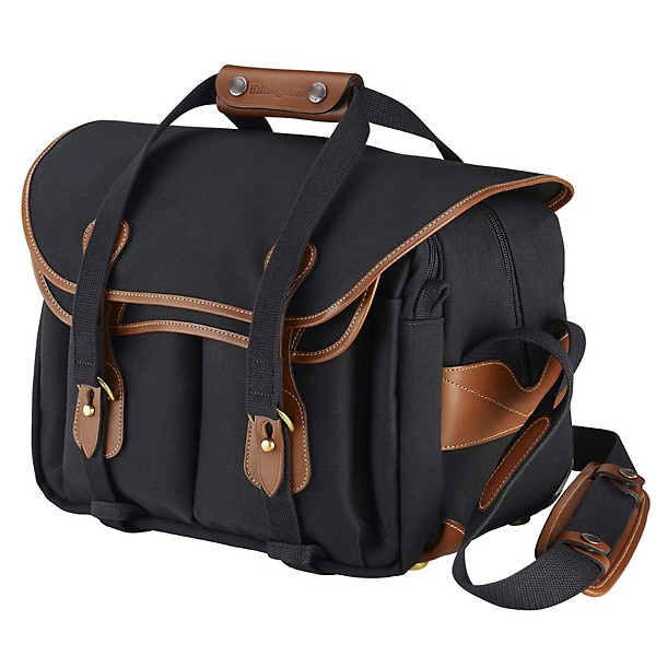 Billingham 335 Black / Tan (Canvas / Leder)