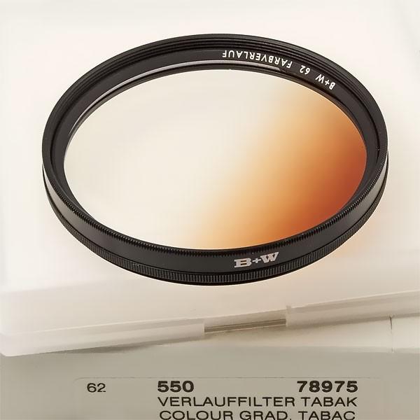 B+W Farbverlauffilter 550 Tabak Ø 62,0 mm