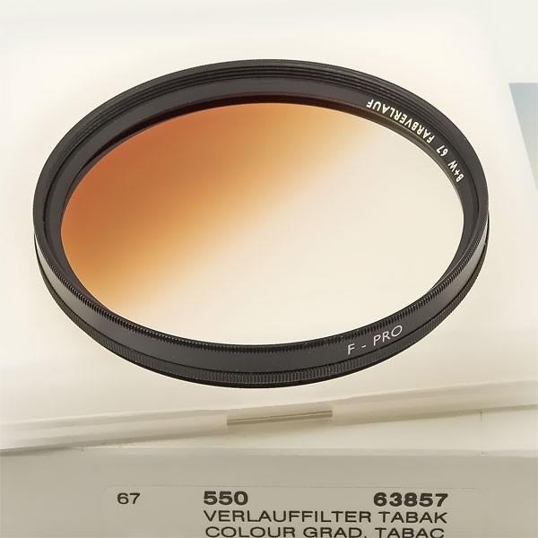 B+W Farbverlauffilter 550 Tabak Ø 67,0 mm