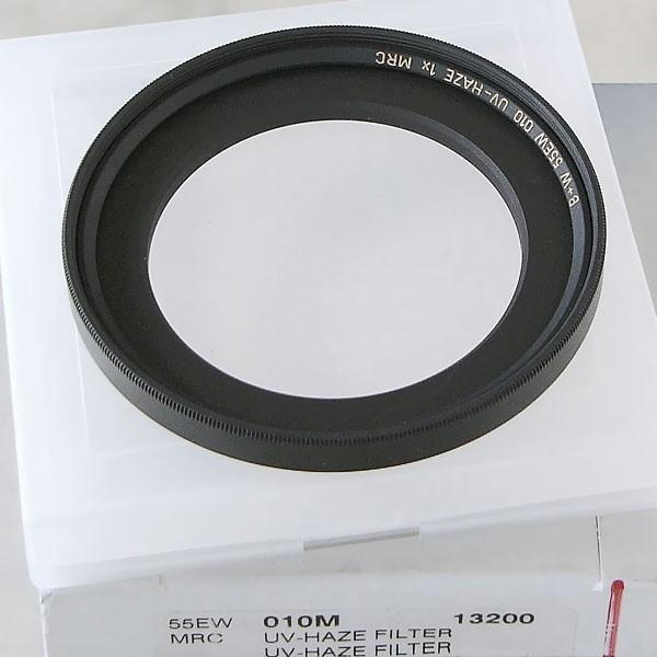 B+W UV-Filter 010 MRC Ø 55,0 mm, überbaute Fassung EW