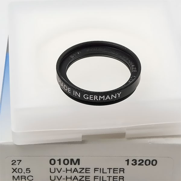 B+W UV-Filter 010 MRC Ø 27,0 mm (x0,50)