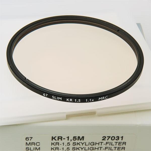 B+W KR-1,5 Skylight-Filter MRC SLIM Ø 67,0 mm