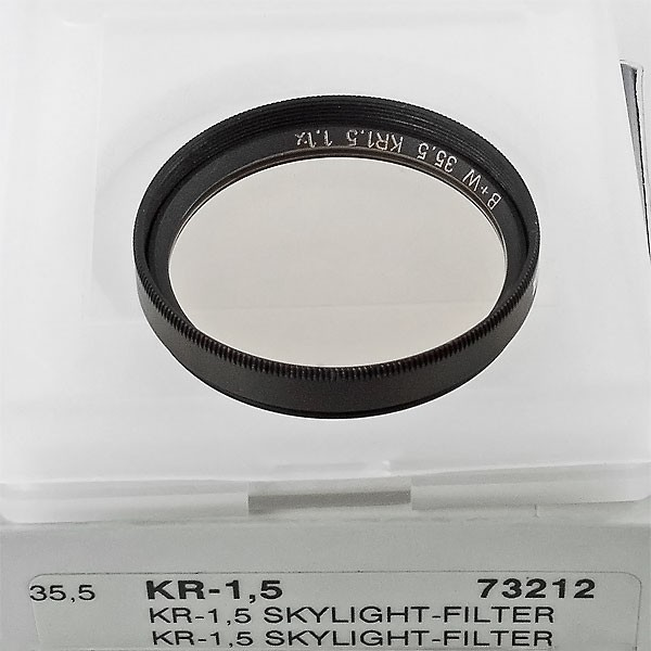 B+W KR-1,5 Skylight-Filter Ø 35,5 mm