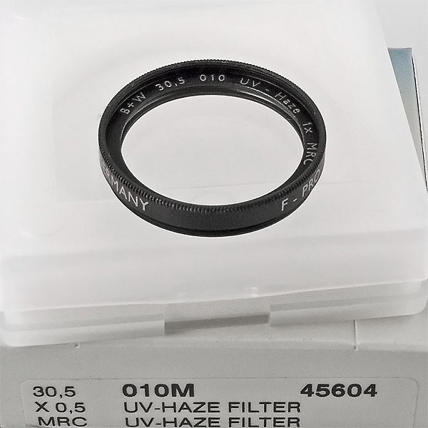 B+W UV-Filter 010 MRC Ø 30,5 mm