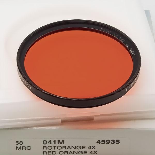 B+W Schwarzweißfilter 041 Rot-Orange MRC Ø 58,0 mm