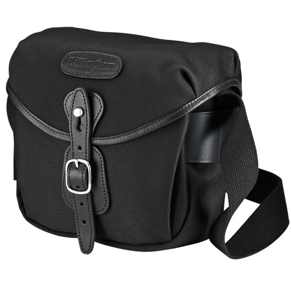 Billingham Hadley Digital Black / Black (Canvas / Leder)