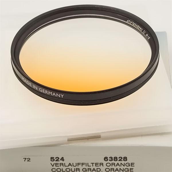 B+W Farbverlauffilter 524 Orange Ø 72,0 mm