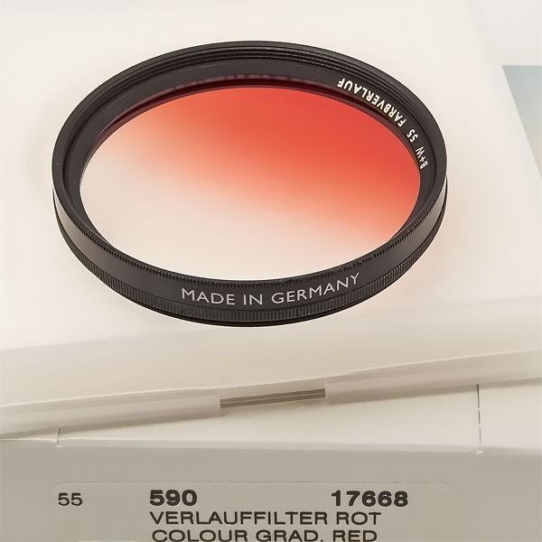 B+W Farbverlauffilter 590 Rot Ø 55,0 mm