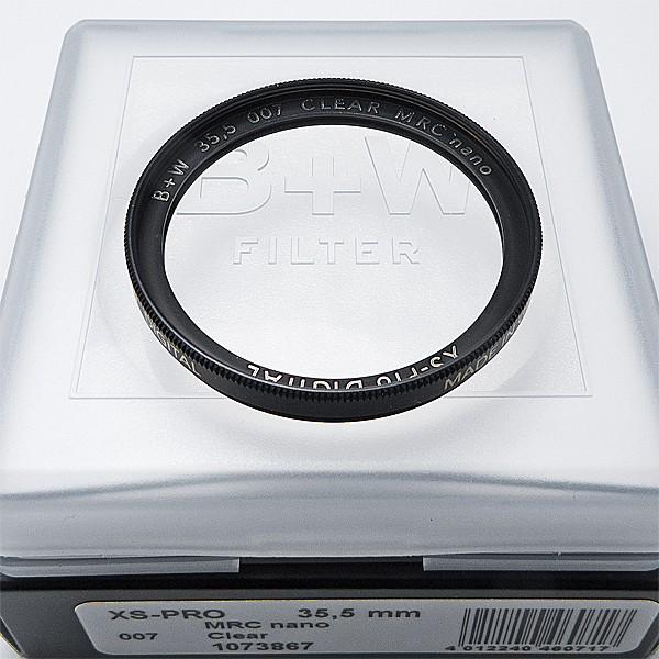 B+W Schutzfilter 007 Clear MRC nano XS-Pro Digital Ø 35,5 mm